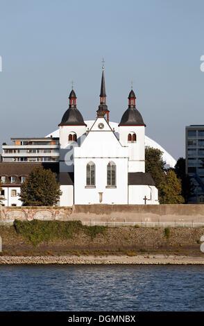 Church of Alt St. Heribert, former abbey church, Cologne-Deutz, North Rhine-Westphalia - Stock Photo