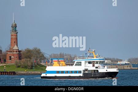 Passenger ship on the Baltic Sea in Kiel, Germany - Stock Photo