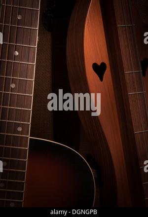 Acoustic Love - Stock Photo