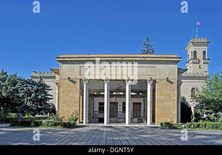 Stalin's birthplace, Stalin Museum, Gori, Shida Kartli, Georgia, Western Asia - Stock Photo