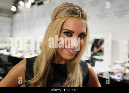 Berlin, Germany, Sylvie van der Vaart at Fashion Week - Stock Photo
