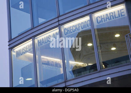 Museum at Checkpoint Charlie, Berlin - Stock Photo