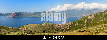 Gulf of Porto, Corsica, France, Europe - Stock Photo