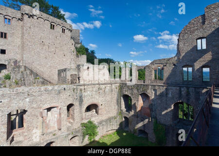Burgruine Hohenbaden castle ruins, Baden Baden, Baden-Wuerttemberg