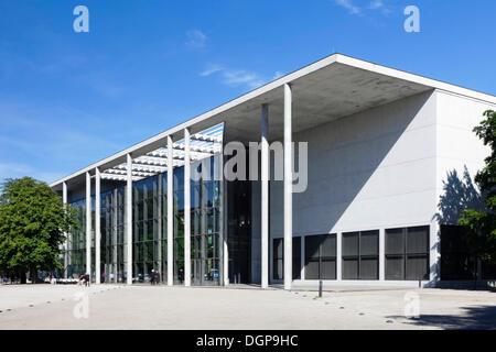 Pinakothek der Moderne, a modern art museum, Munich, Upper Bavaria, Bavaria - Stock Photo