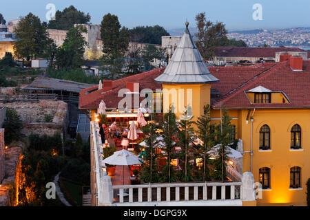 Four Seasons Hotel, Old City Sultanahmet, Istanbul, Turkey, Europe - Stock Photo