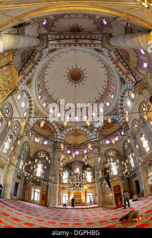 Laleli Camii, Tulips Mosque, historic town centre, Laleli, Istanbul, European side, Istanbul Province, Turkey, European - Stock Photo