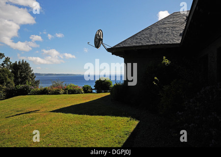 Satellite Dish On The Roof Stock Photo Royalty Free Image