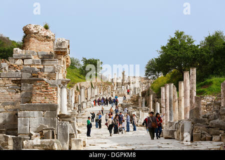 The Archaeological site of Ephesus, Izmir Province, Turkey ...