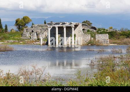 Hellenistic Gymnasium, ancient city of Miletus, Miletus, Aydin province, Aegean region, Turkey - Stock Photo