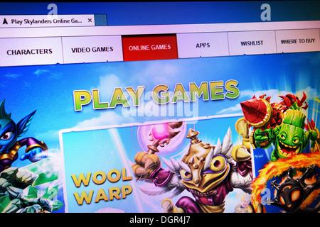 skylands online game - Stock Photo