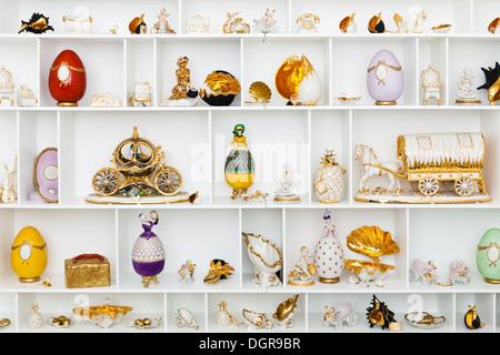 ceramic figurines - Stock Photo