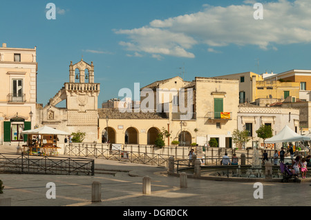 Piazza vittorio veneto matera stock photo 178728062 alamy for Piazza vittorio veneto matera