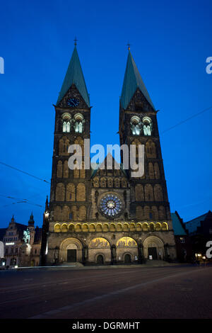 Bremen Cathedral, St. Peter's Cathedral, Bremen - Stock Photo