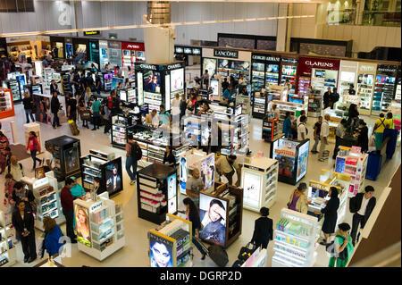 Duty Free Zone, Doha International Airport, Doha, Doha, Doha, Qatar - Stock Photo