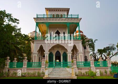 Palacio de Valle in Cienfuegos, Cuba, Caribbean, Americas - Stock Photo
