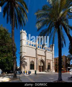 Lonja de la Seda, Plaça de la Llotja, Avinguda de Gabriel Roca, historic town centre, Palma de Mallorca, Majorca - Stock Photo