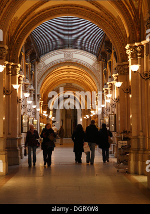 Freyung Passage at Ferstel Palais, Vienna, Austria, Europe - Stock Photo