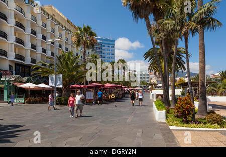 Waterfront promenade puerto de la cruz san telmo puerto de la stock photo royalty free image - Hotel san telmo puerto de la cruz tenerife ...