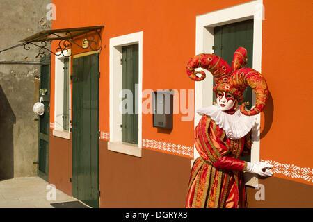 Carnival in Venice, Veneto, Italy, Europe - Stock Photo
