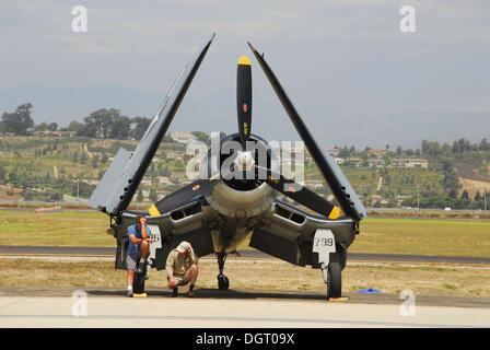 Aircraft at the 'Wings over Camarillo' Airshow, California, USA - Stock Photo