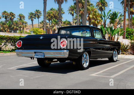 Muscle Car Pickup In Huntington Beach California Usa Stock Photo