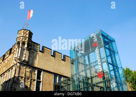 House Guerzenich, festival hall of Cologne, Rhineland, North Rhine-Westphalia - Stock Photo