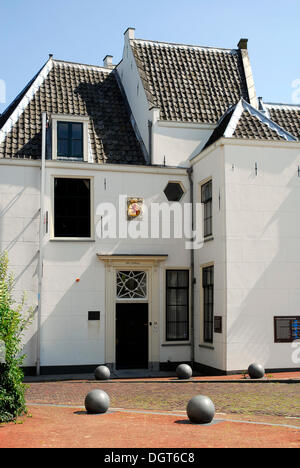 Tolhuis, historic customs house in Gouda, Zuid-Holland, South Holland, the Netherlands, Europe - Stock Photo