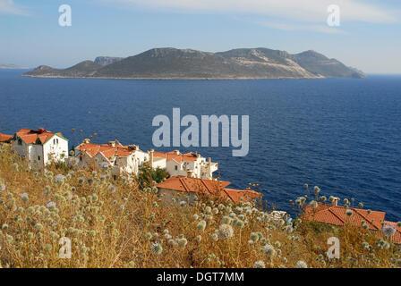 Greek Island Near Kas Turkey