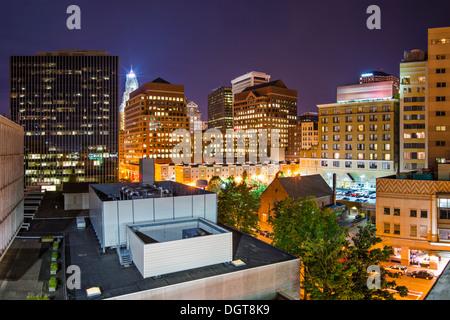 Hartford, Connecticut, USA downtown cityscape. - Stock Photo