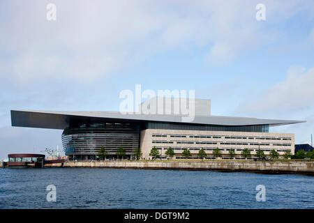 The Copenhagen Opera House, Operaen, Copenhagen, Denmark - Stock Photo
