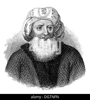 Muhammad Ali Pasha al-Mas'ud ibn Agha, Muḥammad 'Alī Bāshā; 1769 - 1849, an Albanian commander, Khedive of Egypt - Stock Photo