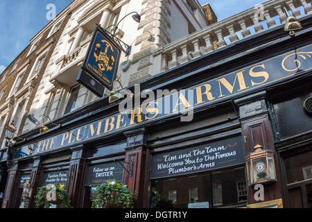 The Plumbers' Arms, Belgravia, London - Stock Photo