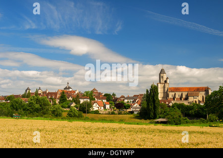 Village Martel with the seven towers in region The Lot in France - Stock Photo