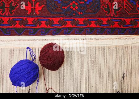 Two balls of yarn - Stock Photo