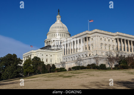 Capitol Hill Building under going Renovations - Stock Photo