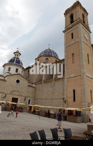 ALTEA OLD TOWN, COSTA BLANCA SPAIN - Stock Photo