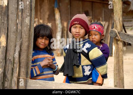 this is Akha minorities in Laos Stock Photo: 27108373 - Alamy