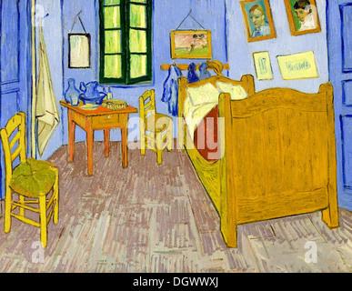 Bedroom in Arles by Vincent van Gogh, Musée d\'Orsay, Paris, France ...