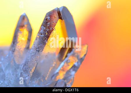 Quartz Crystal Shards - Stock Photo