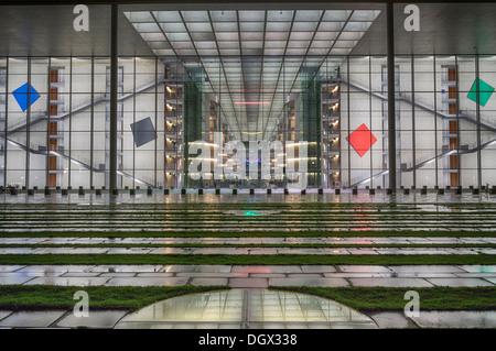 Paul-Loebe-Haus, a building of the German parliament, Berlin, Berlin, Berlin, Germany - Stock Photo
