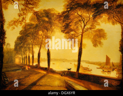Mortlake Terrace - by John Constable, 1827 - Stock Photo