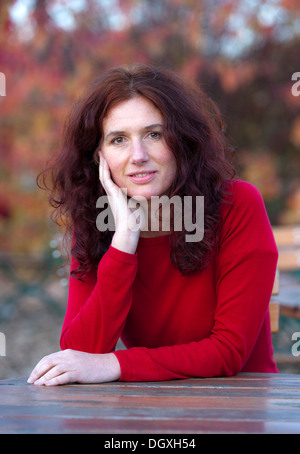Actress, filmmaker and author Maria Blumencron at a photocall in Munich, Bavaria - Stock Photo