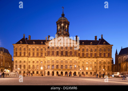 The capital's town hall, Amsterdam, province of North Holland, The Netherlands - Stock Photo