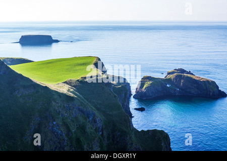 Carrick-a-Rede, Co. Antrim, Northern Ireland - Stock Photo