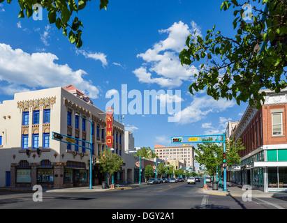 albuquerque new mexico route 66 of central avenue of