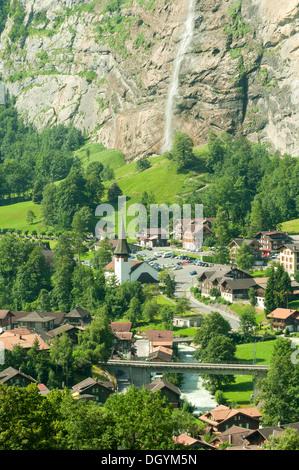 Lauterbrunnen, Switzerland - Stock Photo