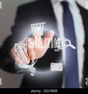 touch screen - Stock Photo