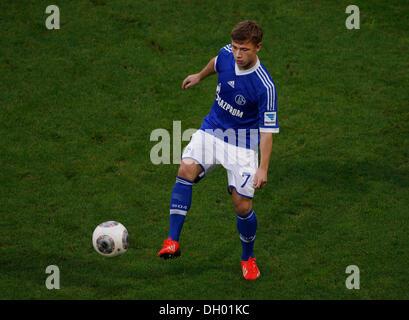 Fussball, Gelsenkirchen , Deutschland , 1. Bundesliga ,  10. Spieltag, FC Schalke 04 - Borussia Dortmund 3 -1 in - Stock Photo
