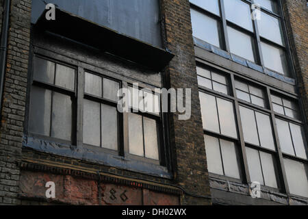 Old warehouses in Blossom Street Spitalfields London London